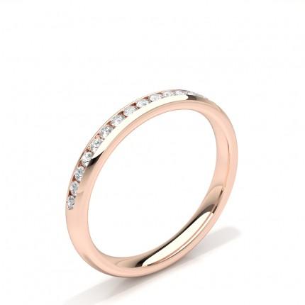 Channel Set Diamant Damen Ehering