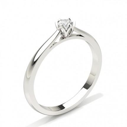 6-Klofattning Briljant Diamant Förlovningsring