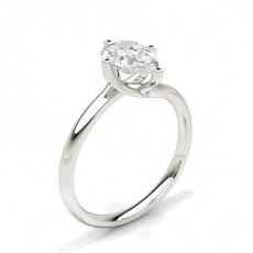 Pera Anelli con diamanti solitari