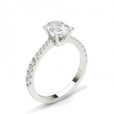 Ovalschliff Diamantringe