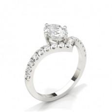 Oval Diamond Engagement Rings