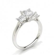 Princess Trilogy Diamond Rings