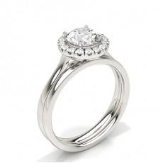Smaragd Schulter Diamanten mit passendem Verlobungsringe