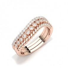 Round Everyday Diamond Rings