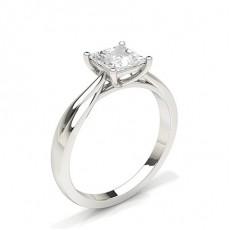 Princess Solitaire Diamond Rings