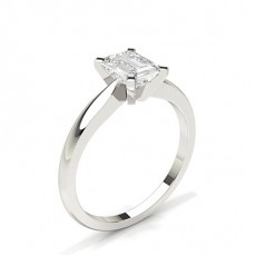 Radiant Solitaire Engagement Rings