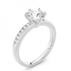 Pære Side stein forlovelsesringer