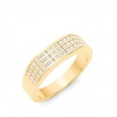 Bagues En Diamant Pour Homme En Or Jaune