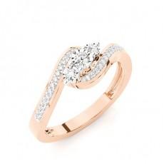 Rose Gold Everyday Diamond Rings